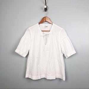 MADEWELL White Tie Shirt